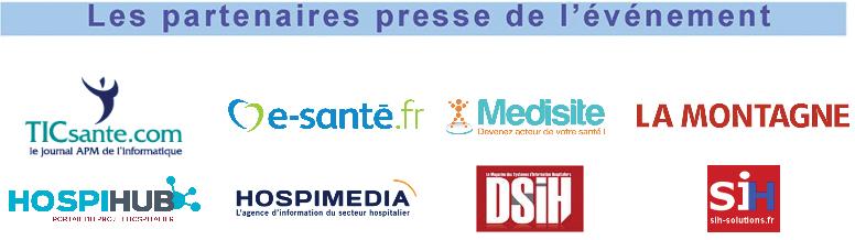 Partenaires presse Catel Visio 2018 - Bonnes pratiques du numérique en santé